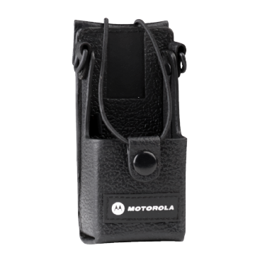 Motorola Leather Carry Case with belt loop for CP140 & DP1400